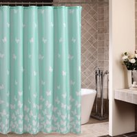 ingrosso volare cielo luci-Unique Shower Curtain Blue Flying Birds Open Wings Silhouettes Clear Summer Sky Hovering Feathered Animals Azzurro bianco