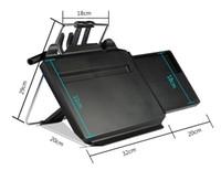 dizüstü bilgisayar masa tepsi masası toptan satış-LONGFENG LFCP15 YENI Laptop için multi-fonksiyonel Araç Direksiyon tepsi Araba Koltuğu Geri Pc Montaj Tepsisi Siyah Masa Dizüstü Dizüstü Masası Masa