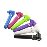Wholesale crazy machines - Crazy Tattoo Mini Ink Pigment Mixer Machine Pen 5 Colors(Random Send Color) with 5x Stickers Supplies Free shipping