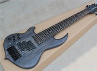 Wholesale Electric Guitar Left Hand - 2018 Left hand 8-String Matte Black Electric Bass Guitar,Black Hardwares,Basswood+Maple Body,Offer Customized