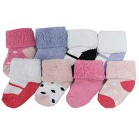 yeni doğmuş yumuşak çoraplar toptan satış-8 çift / grup Yenidoğan Süper Yumuşak Pamuk Bebek Çorap Bebek Kız Ve Erkek Çorap Anti Kayma Yenidoğan Çorap 0-3 M Için