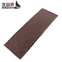 Wholesale hotel quilt cover - BSWolf Portable Outdoor Camping Sleeping Bag Adult Travel Hotel Anti-dirty Sleeping Bag Quilt Cover Easy To Clean 200*75cm