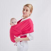 portabebés ergonómicos al por mayor-Suave bebé canguro Wrap Sling Mochila cubierta portadora ergonómica mochila para niños niños Hipseat cubierta de enfermería