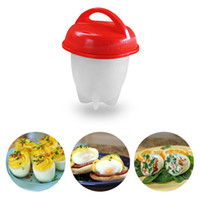 Wholesale egg packing - Silicone Egglettes Egg Cooker Hard Boiled Eggs without the Shell For Egg Tools Pack of 6pcs