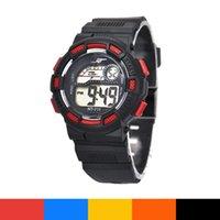 Wholesale Alarms For Sale - Hot Hot sale Waterproof Children Boy Digital LED Quartz Alarm Date Sports Wrist Watch for men fast shipping