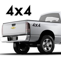 ford 4x4 lastwagen großhandel-Für (2Pcs) 4x4 Grafik Aufkleber Set für Pickup Trucks, jedes Jahr Ford F-150 XLT
