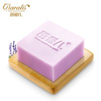 Wholesale Lavender Soaps - 120g Lavender Extract Moisturizing Handmade Soap Whitening Acne Treatment Face Care Cleanser Shaving Hand Made Soap Oil Control