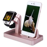 carregamento de apple iwatch venda por atacado-Suporte de carregamento doca suporte suporte kit para iphone apple watch iwatch