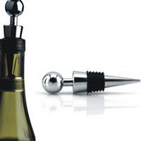 bouchon de bouteille de vin rouge twist achat en gros de-Twist Collection de vin de mariage en alliage + plastique Cadeaux frais de haute qualité bouchon de vin bouteille de vin rouge bouchon