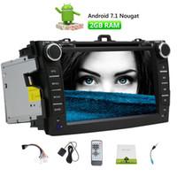 Wholesale head play - Eincar Android 7.1 Car Autoradio Stereo 2 Din In Dash GPS Navigation Radio Bluetooth Head Unit 2GB+32GB Phone Mirroring Car DVD Play