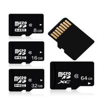 iphone için hafıza kartı toptan satış-2018 Yeni Yüksek Kalite Gerçek Kapasite MicroS D 128 GB 64 gb 16 gb 32 gb Mikro S-D kart 8 gb 16 gb 4 gb 1 gb 2 gb Hafıza Kartı TF Kart
