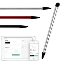 Wholesale resistive touch screen tablets resale online - High Quality Capacitive Resistive Pen Touch Screen Stylus Pencil for Tablet iPad Cell Phone Samsung PC