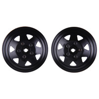 Wholesale parts for electric car for sale - 4pcs inch RC Crawler Car Metal Wheel Rims for D90 SCX10 RC4WD RCRUN Wheel Hub Parts Toys Accessories
