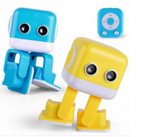 Wholesale Electronic Toy Robots - Cubee Robot Smart intelligent Dance Robot F9 toy Electronic Walking Toys App control Robot Gift For Kids Education Toy DHL free