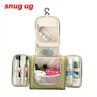 SNUGUG Brand Travel Organizer Bag Unisex Women Cosmetic bag Hanging Travel  Makeup bags Washing Toiletry kits storage Bags S923 8ae6ea48bc2cc