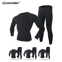 новая велоспортивная одежда оптовых-одежда для велоспорта 2018 Новый термобелье с длинным рукавом и беговой дорожкой
