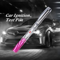 Wholesale ignition spark - Auto Car Test Pen Tester Spark Plugs Wires Coils Diagnostic Tool Ignition Spark Indicator Vehicle Tools