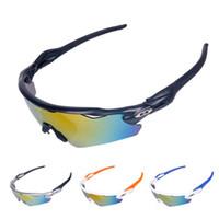 Wholesale eyewear accessories online - Unisex Cycling Wheel Up Sports Photochromic Polarized Glasses Eyewear Glass Riding Accessories