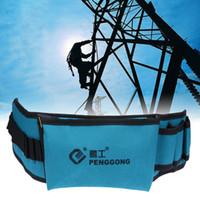 Wholesale herramientas tool for sale - Group buy Multi functional Belt Tool Bag bolsa Electrician Waterproof Oxford Tools Kit Pockets Storage Bag herramientas para electricistas