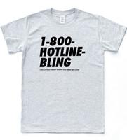 bling camisetas al por mayor-Hotline Bling camiseta Drake God Hands Hipster Tee Música Owl Ovo Slogan Top 2018 Moda para hombre de manga corta impresa camiseta