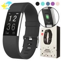 Wholesale Pulse Vibration - 115 HR Plus Smart Bracelet Fitness Heart Rate Tracker Step Counter Activity Monitor Band Alarm Clock Vibration Wristband DayDay APP
