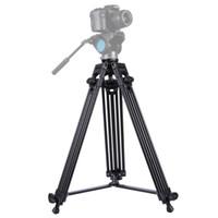 professioneller camcorder dslr kamera großhandel-PULUZ PU3003 Professionelle Heavy Duty Aluminiumlegierung Stativ für DSLR SLR Kamera Video Camcorder