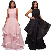 Wholesale high end prom gowns - High-end wedding bridesmaid dresses sexy halter V lace evening gowns party prom dress large pendulum women plus size wedding dresses