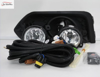şehir lambaları toptan satış-Honda City için araba Sis Farları 2017 Temizle Halojen ampul: H8-12V 25 W Ön Sis Farları Tampon Lambaları Kiti