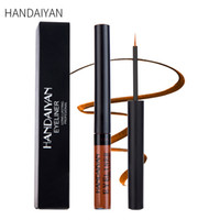 Wholesale colored eye shadow for sale - Group buy HANDAIYAN high quality color matte eyeliner Colored eyeliner Long lasting Matte White Eye shadow Blue