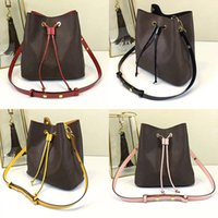 Wholesale shopping bags resale online - Orignal real leather fashion famous shoulder bag Tote designer handbags presbyopic shopping bag purse messenger bag Neonoe