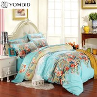 Wholesale hotel duvet covers - 20 colors Pastoral Floral printing 3 4pc Bedding Sets Twin Full Queen size for Home Hotel Bed Linen Bed Sheets Duvet Cover