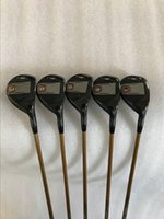 Wholesale golf clubs rescue - 2018 Golf G400 Hybrids 17 19 22 26 30 loft Graphite shaft G400 Golf Clubs Rescues Come headcover.