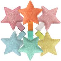 ingrosso farfalle per capelli-XIMA 12 pz / lotto New Shiny Star Clip di capelli Ragazze Stella Cuore Farfalla Corona Archi per capelli Ragazze Accessori per capelli Forcine Mix 6 colori