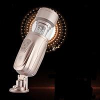 neue masturbatoren großhandel-Neue Einfache Liebe Teleskopische Liebhaber 2 Automatische Sex Maschine, Rotierende und Einziehbare Elektrische Männliche Masturbators, Sexspielzeug für Männer