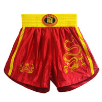 Wholesale muay thai shorts free shipping for sale - Group buy Mma Boxing Trunks Fight Shorts Free Combat Pants Boxing Sanda Shorts Muay Thai For Men Bs Jhw0006