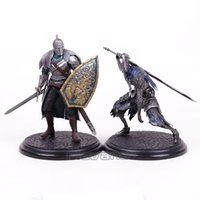 Wholesale knight toy - Dark Souls Faraam Knight  Artorias The Abysswalker Pvc Figure Collectible Model Toy 2 Styles Children Toys