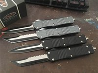 Wholesale Plain Stainless Steel - MT! Custom Microtech Gear Combat Hellhound Tanto Troodon Knife Double Action Plain Ultratech EDC Tactical Knives