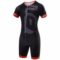 Wholesale clothing for men ciclismo for sale - 2017 High Quality Men Black Jumpsuit Ropa Ciclismo Maillot Cycling Jerseys Sets Bike Clothing Triathlon Sport for Running Swimming