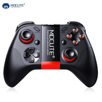 Wholesale smartphone joystick resale online - Mocute Bluetooth Gamepad Crystal Button Android Joystick PC Wireless Remote Controller Game Pad for Smartphone for VR TV BOX