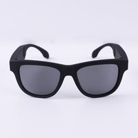 knochengläser großhandel-Smart Bluetooth Kopfhörer Drahtlose Stealth Kopfhörer Gläser Sonnenbrille Knochenleitung Komfortable Intelligente Lieder Mikrofon für Telefon