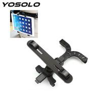 держатель сидения для планшетов оптовых-YOSOLO Car Rear Seat Plate Bracket Car Tablet Holder Headrest  Rotation Bracket 7-13 inch Accessories Styling
