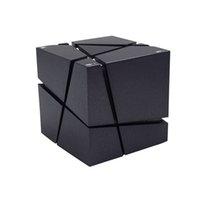 haut-parleurs bluetooth achat en gros de-Nouveau Qone Mini Cube Haut-parleurs 3D Son Stéréo Portable Bluetooth Haut-Parleur Sans Fil Boîte à Musique Support TF Carte Avec Boîte Au Détail Meilleure Charge 3
