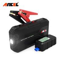 baterias recarregáveis venda por atacado-Car Ir Para Iniciantes 500A Dispositivo de Arranque Portátil Mais Leve Power Bank Multi-função Carregador Para Bateria de Carro 12 V com Tela Digital