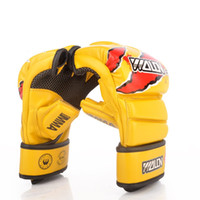 Wholesale fight equipment for sale - Group buy Best Selling Half Finger Beat Glove Combat Fighting Sandbag Thickening Thai Boxing Gloves Punch Fitness Equipment Hot Sale dc Ww