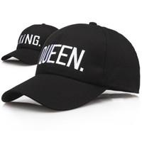 80f3299afd1 Wholesale queen snapback online - KING QUEEN Baseball Cap Snapback Men  Women Visor Caps dad Bone