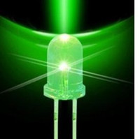 Wholesale led 8mm - Through Hole super bright 8mm led diode 9087 ujj Through Hole super bright 8mm led diode