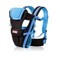 Wholesale kangaroo baby pouch resale online - Beth Bear Months Breathable Front Facing Baby Carrier in Infant Comfortable Sling Backpack Pouch Wrap Baby Kangaroo New NB