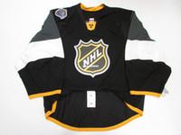 otantik nhl hokey mayo toptan satış-Ucuz Özel 2016 NHL TÜM YıLDıZ OYUN OTANTIK KOYU KENAR JERSEY GOALIE CUT 60 Mens Dikişli Kişiselleştirilmiş hokeyi Formalar