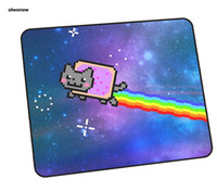 ingrosso pastiglie per mouse fresco-nyan cat mouse pad gamer modello HD 35x30cm notbook tappetino per mouse gaming mousepad cool nuovo pad PC scrivania padmouse