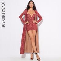 rotes blumenmaterial großhandel-Großhandels-LoveLemonade reizvolle rote Blume vineBeads Material-Wolljacke-Mantel LM0378